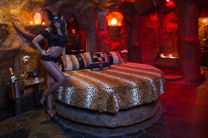 The Cave Theme Room at Executive Airport Hotel , Sexy Foreplay